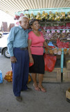 Couple sells produce