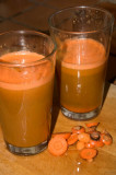 fresh squeezed carrot - celery - parsley juice