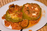 Peppers stuffed with Quinoa and Cheese 2