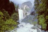 Vernal Falls ithink Yosemite Spring 95 Mist Trail maybe