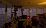 Inside of Lookout tonight 04 Oct 2007 w lightning