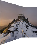 Perspective 2 shot vertical panorama Saddleback LO