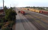 Railroads: Front Loader as Locomotive