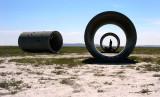 Sun Tunnels (Celestial Art in the Utah Desert)