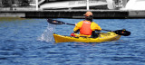 Kayaker is not what he seems