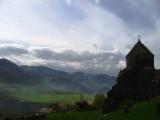 Haghpat Monastery - view towards Alaverdi