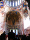 Frescos inside Gelati church