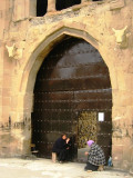 Entrance to Svetitskhoveli Cathedral