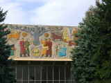 I just love these Soviet building facades