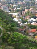 Looking down from Narikala