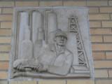 Limestone sculpture-firehall-Mt. Pleasant MI.JPG