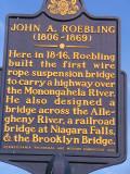 Roebling bridge signage.JPG