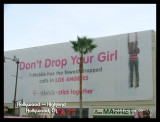 Giant Don't Drop Your Girl Banner