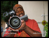 I have lots of photos of Camera man Renato Moore because he kept making me take them.