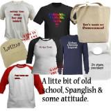 spanglish tshirts