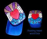 floating heart box