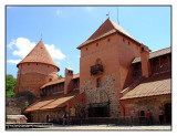 Inside Trakai Castle