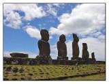 Ahu Vai Uri, Easter Island, Chile