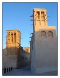 Wind towers, Bastakia Quarter, Dubai