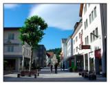 Pedestrian shopping street, Vaduz