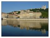 Saone river bank, Lyon