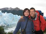 by Glaciar Perito Moreno