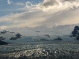 funky light on the glacier