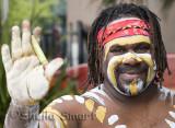 Turtle - aboriginal didge player