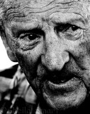 Old man at Fingal Head