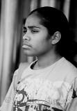 Young aboriginal woman