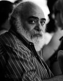 Bearded man on ferry