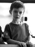 Boy on ferry