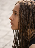 Beauty with braids