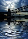 Sydney Harbour Bridge reflection
