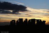 Stonehenge Sundown