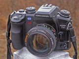 58 f/1.2 Rokkor X for Minolta Maxxum Dynax Sony Alpha  $400