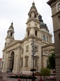 some big church in Budapest - St. Stephens??