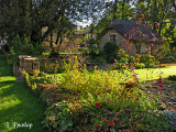 Coln Roger Garden, Thatched Cottage