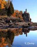 33 - Split Rock Lighthouse Reflection, Autumn
