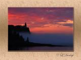 Summer Sunrise At Split Rock Lighthouse