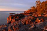 72 - Temperance: Sunrise Rocks On Lake Superior