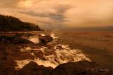 71 - Temperance:  Lake Superior Storm, North View