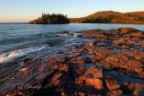 39 - Split Rock's Little Two Harbors, Morning Light