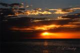 40 - Split Rock: Sunrise With Distant Sailboat