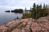 Pink Rock Cliff, Silver Bay Shore