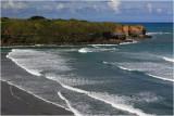 Surfing at Opunake.