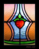 stained glass.