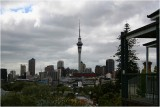 View from ones porch on Ponsonby.Auckland City.