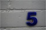 Numbers on Ponsonby 3.