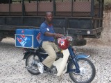 delivery motorbike